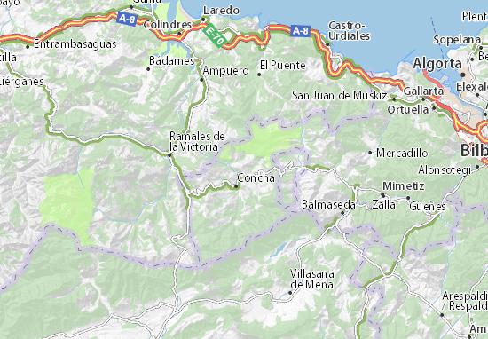 Mapas-Planos Valle de Carranza