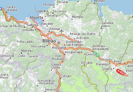 Mapas-Planos Basauri