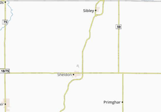 Kaart Plattegrond Ritter