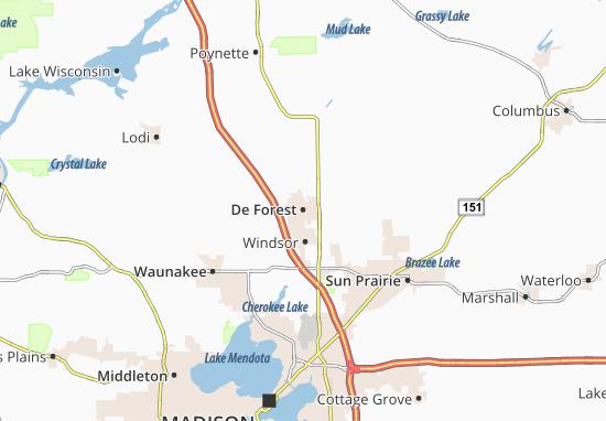 De Forest Map
