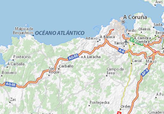 Mapas-Planos A Laracha