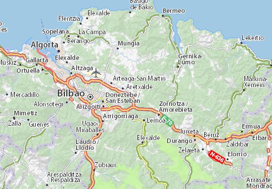 Larrabetzu Map