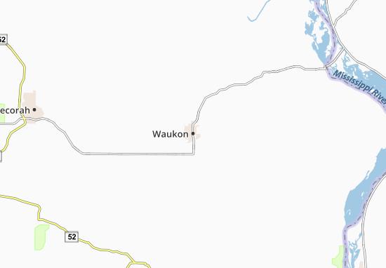 Waukon Map