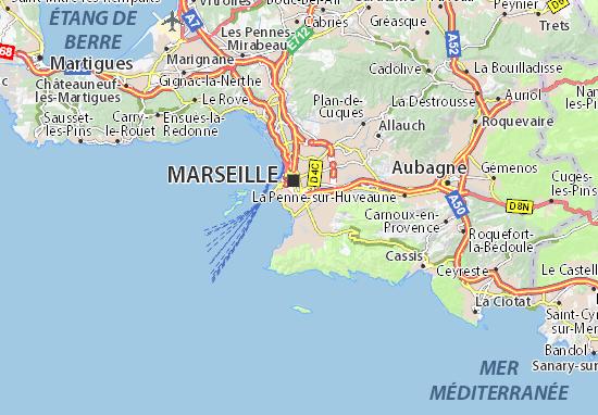 Mapas-Planos Marseille 08