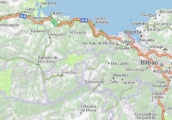 Mapas-Planos Trucios-Turtzioz