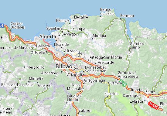 Mapas-Planos Arteaga