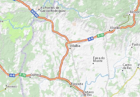 Vilalba Map