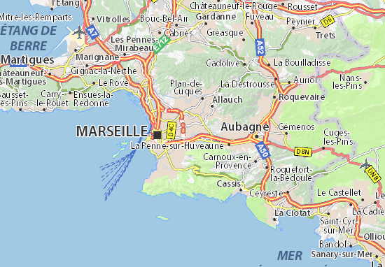 Marseille 12 Map