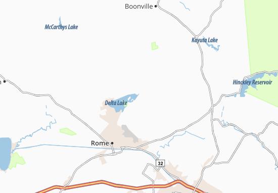 Westernville Map
