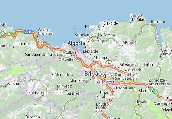 Sestao Map