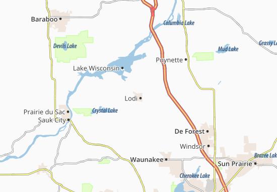 Lodi Map