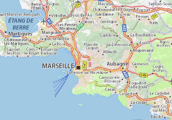 Marseille 13 Map