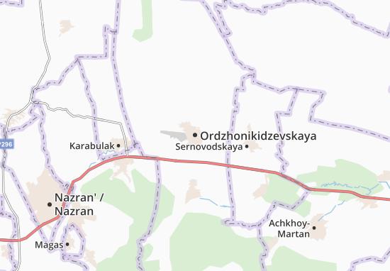 Carte-Plan Ordzhonikidzevskaya
