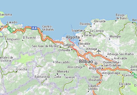 Gallarta Map