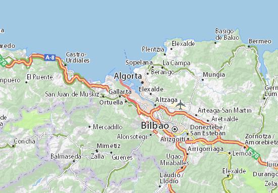 Mapas-Planos Portugalete
