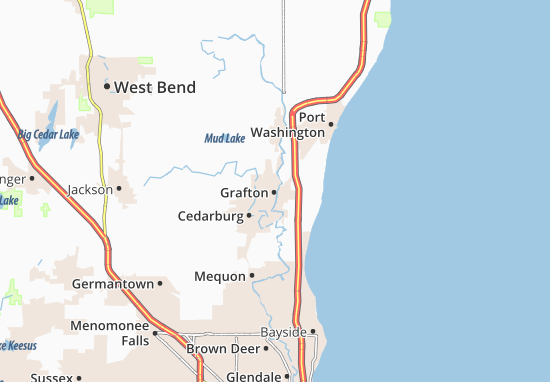 Grafton Map