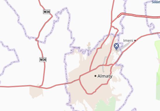 Kaart Plattegrond Burunday