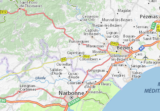 Mappe-Piantine Capestang