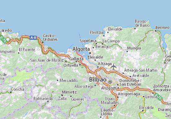 Santurtzi Map