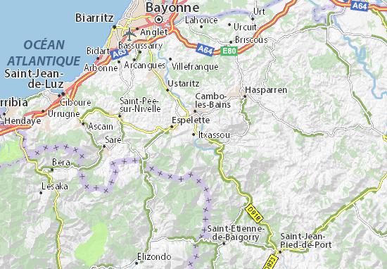 Mappe-Piantine Itxassou