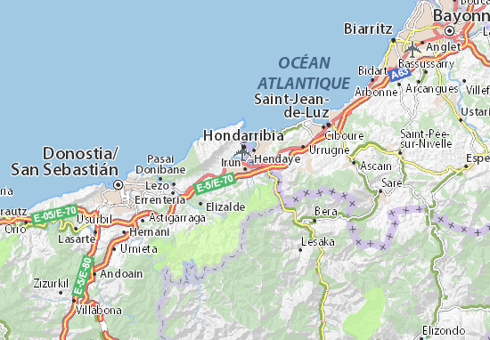 Mapa Plano Irun
