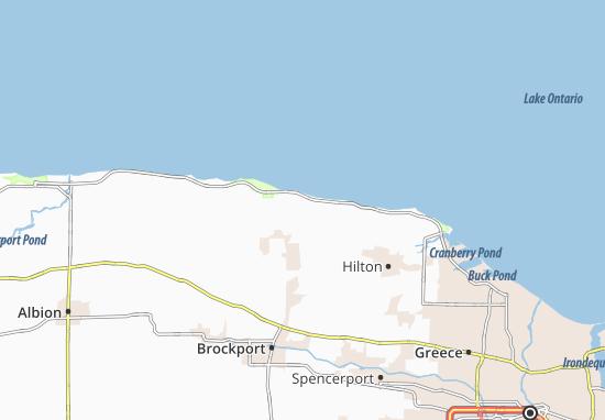 Map of North Hamlin  Michelin North Hamlin map  ViaMichelin