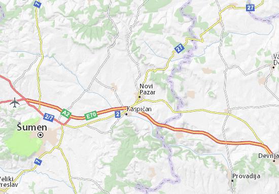 Novi Pazar Map