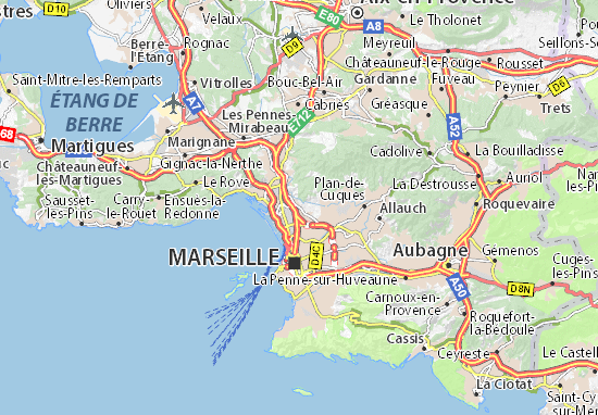 Mappe-Piantine Marseille 14