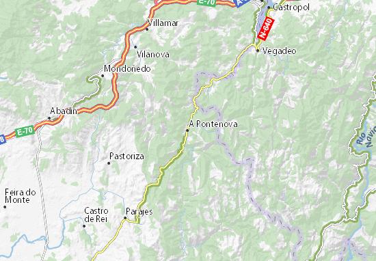 Carte-Plan A Pontenova
