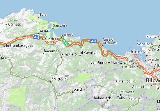 Mapas-Planos El Puente