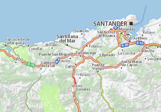 Mapas-Planos Torrelavega