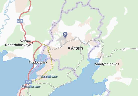 Kaart Plattegrond Artem