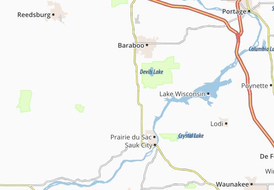 Kaart Plattegrond Bluffview