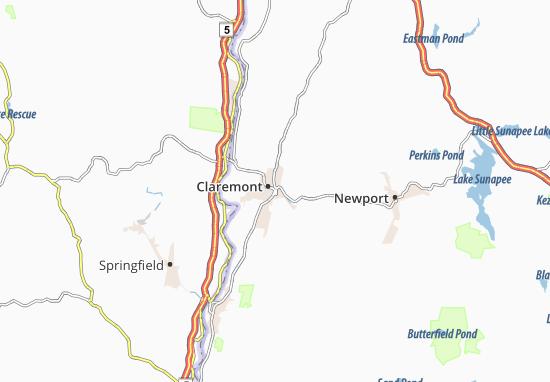 Claremont Map