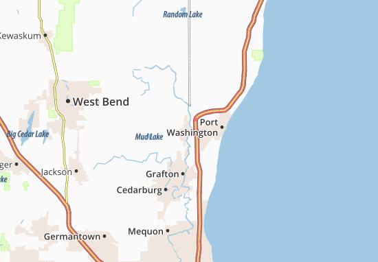 Saukville Map