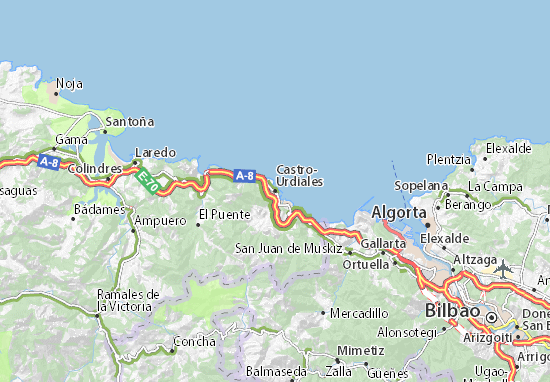 Mapas-Planos Castro-Urdiales