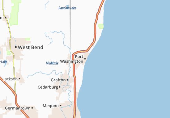 Port Washington Map