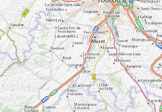 Lavernose-Lacasse Map