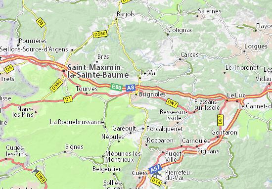 Brignoles Map