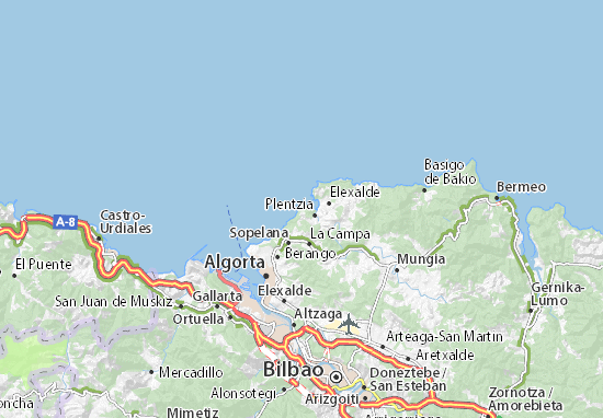 Mapas-Planos Barrika