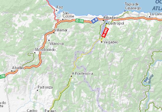 Mapa Carreteras De España.Mapa La Carretera Plano La Carretera Viamichelin