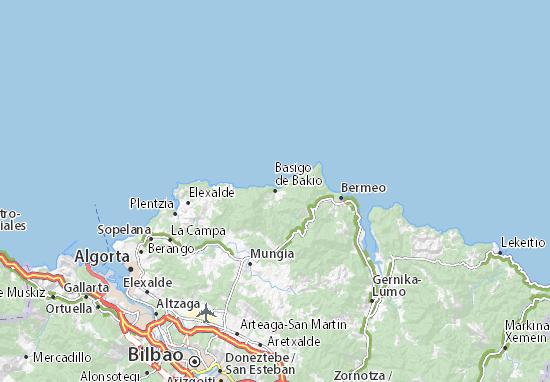 Mapas-Planos Basigo de Bakio
