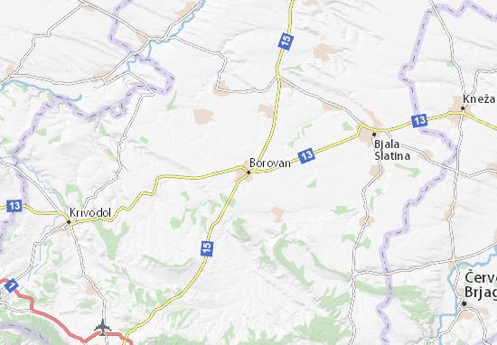 Mappe-Piantine Borovan