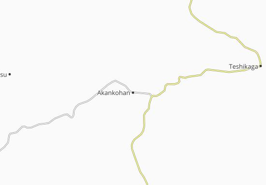 Carte-Plan Akankohan