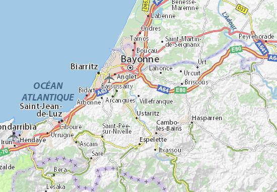 Mapa Plano Villefranque