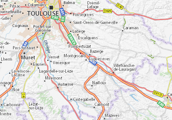 Mappe-Piantine Ayguesvives