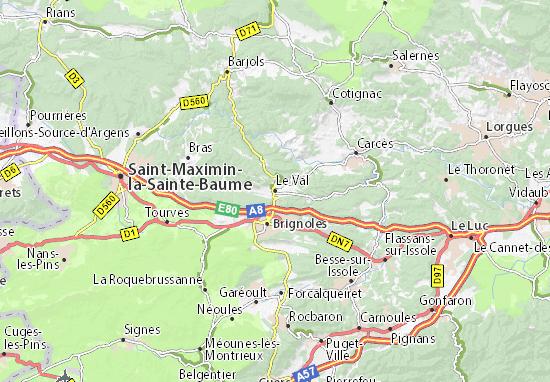Carte-Plan Le Val