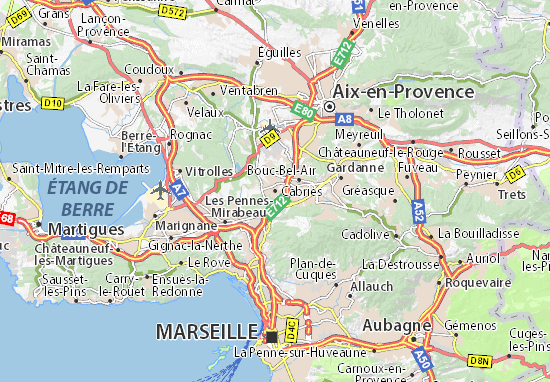Cabriès Map