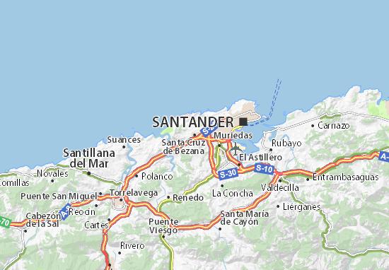 Mapas-Planos Santa Cruz de Bezana