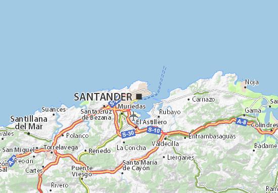 Mapa Plano Santander